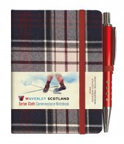 Tartan Cloth Notebook Mini: Dress (Jun)