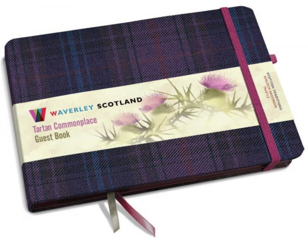 Tartan Commonplace Guest Book (May)