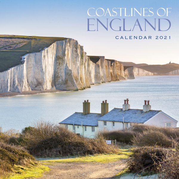 2021 Calendar Coastlines of England (2 for £6v) (Mar)