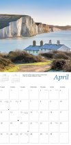 2021 Calendar Coastlines of England (2 for £6v)