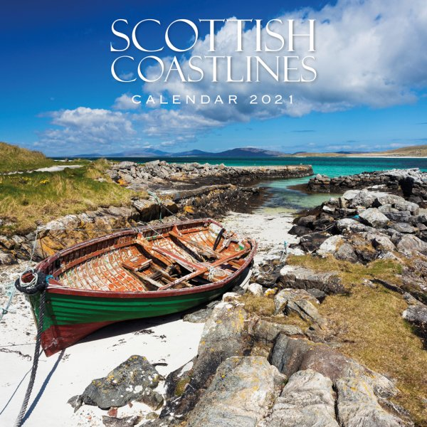 2021 Calendar Scottish Coastlines (2 for £6v) (Mar)