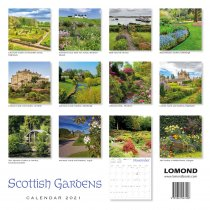 2021 Calendar Scottish Gardens (2 for £6v) (Mar)