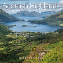 2021 Calendar Scottish Highlands (2 for £6v) (Mar)