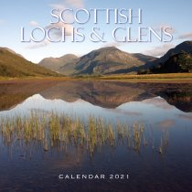 2021 Calendar Scottish Lochs & Glens (2 for £6v) (Mar)