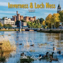 2021 Calendar Inverness & Loch Ness (Mar)