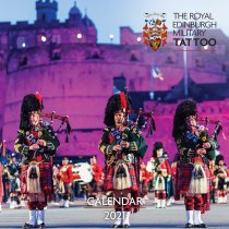 2021 Calendar Royal Edinburgh Military Tattoo (Mar)