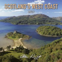 2021 Calendar Scotland's West Coast (Mar)