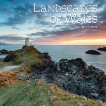 2021 Calendar Landscapes of Wales - Fam Org (2 for £6v) (Mar)