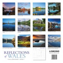 2021 Calendar Reflections of Wales (2 for £6v) (Mar)
