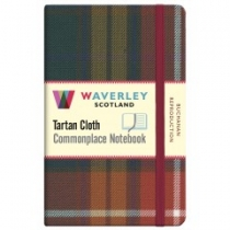 Tartan Cloth Notebook: Buchanan Reproduction