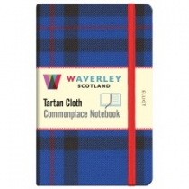 Tartan Cloth Notebook: Elliot