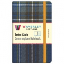 Tartan Cloth Notebook: Holyrood