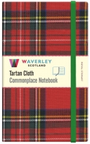 Tartan Cloth Notebook Large: Royal Stewart
