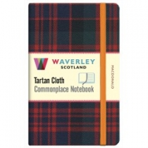Tartan Cloth Notebook: MacDonald