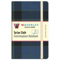 Tartan Cloth Notebook: MacKay Ancient