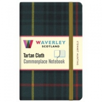 Tartan Cloth Notebook: Stewart Hunting